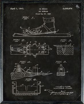 Picture of Patent - Ski Binding Small