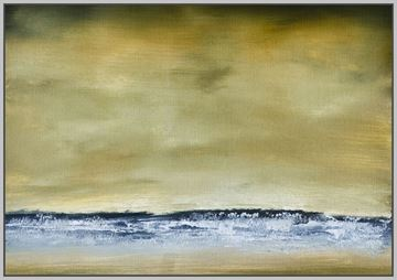 Picture of Sea View II - Framed Canvas