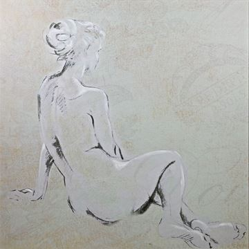 Picture of Nude Study I - Gallery Wrap Canvas