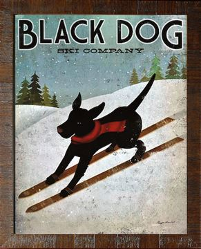 Picture of Black Dog - Ski