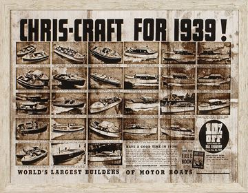 Picture of Chris Craft, 1939