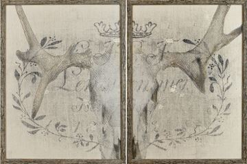 Picture of Crane Et Lin Diptych