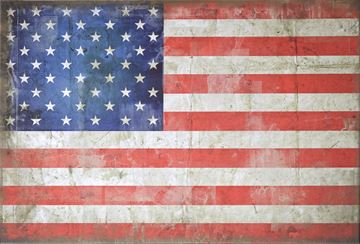 Picture of Flag-Usa Lge  - Gallery Wrap Canvas