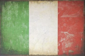 Picture of Flag-Italy Lge  - Gallery Wrap Canvas