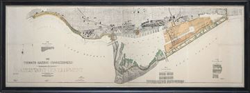 Picture of Map - Toronto Waterfront- 1912