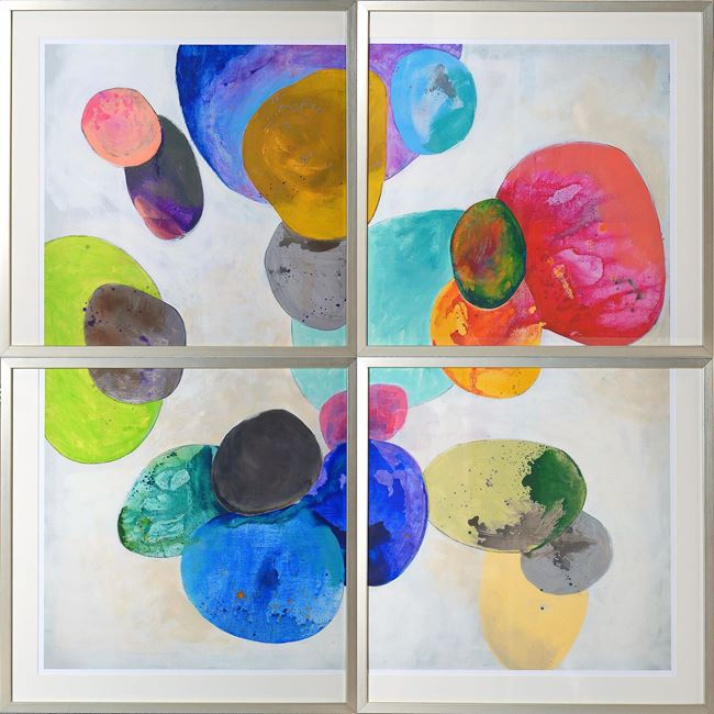 Picture of Orbe Aura - Tetraptych