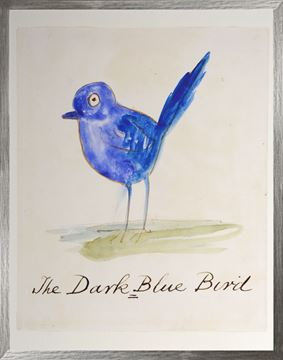 Picture of The Dark Blue Bird - Large