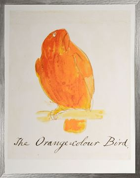 Picture of The Orange Colour Bird - Large