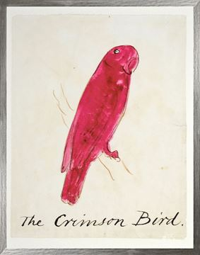 Picture of The Crimson Bird - Large