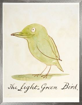Picture of The Light Green Bird - Large