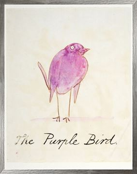 Picture of The Purple Bird - Large