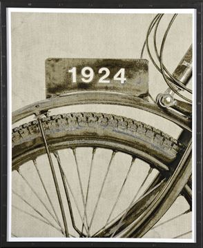 Picture of Vintage Cycle Detail II - A