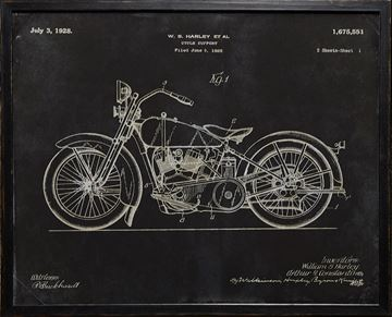 Picture of Harley Patent, 1928