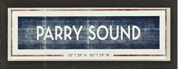 Picture of Sign - Parry Sound