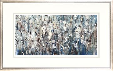 Picture of White Bloom With Navy I