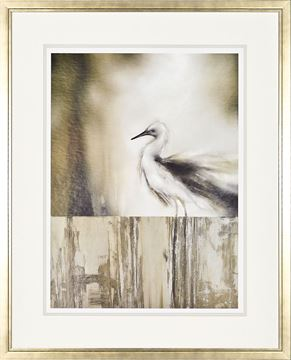Picture of Sea Mist And The Egret