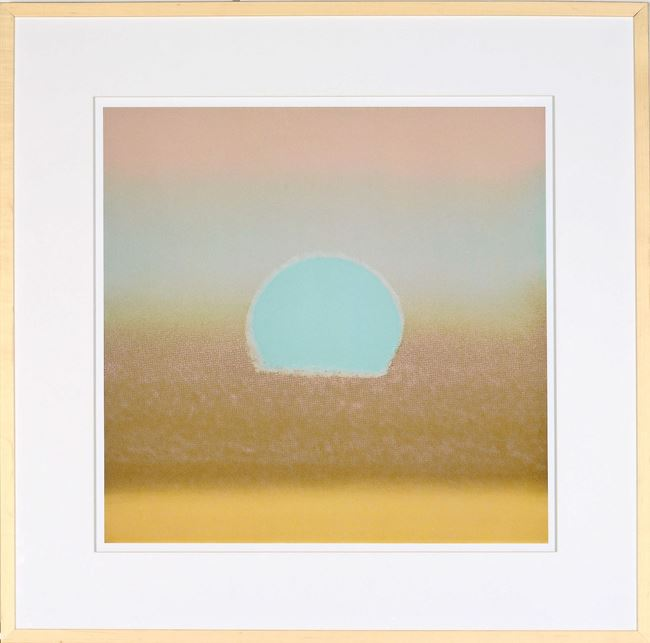 Picture of Andy Warhol, Sunset 1972