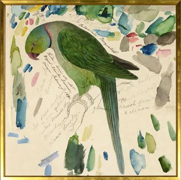 Picture of Lear - Green Parrot - Lrg