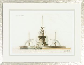 Picture of Velazquez Fountain Elevation II