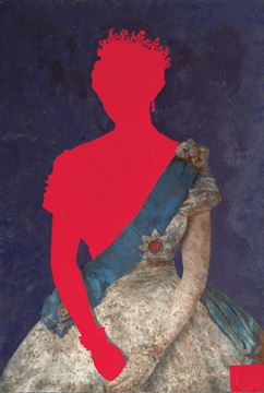 Picture of Queen In Red  - Gallery Wrap Canvas
