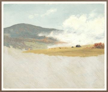 Picture of Collection 07 - Church - Hilly Landscape - 1865-75