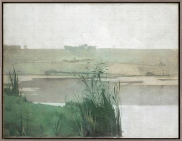 Picture of At Arques La Bataille - Framed Canvas