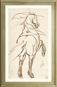 Picture of Collection 01 - Study Of A Rearing Horse - 1616