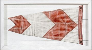 Picture of Yachting Burgee - Red Arrow