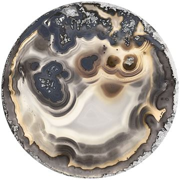 Picture of Acrylic - Neutral Agate Round II