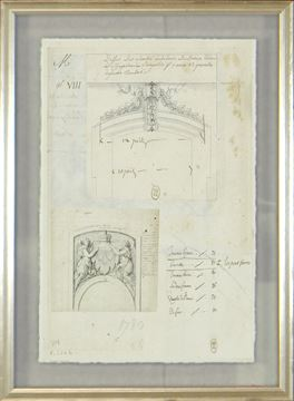 Picture of Architectural Decoration 17Th Century IV