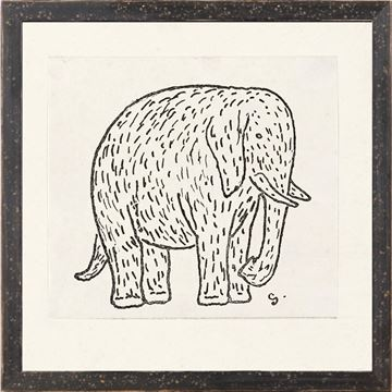 Picture of Collection 12 - Gestel, Elephant  - 1900