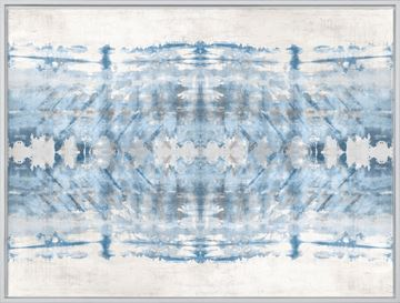 Picture of Painted Shibori - Large Framed Canvas