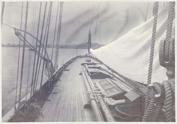 Picture of Acrylic - Indigo Stained - Deck of Galatea