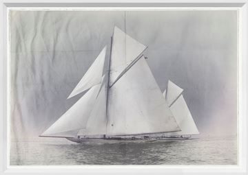 Picture of Indigo Stained - Yachts Constitution & Columbia - Small