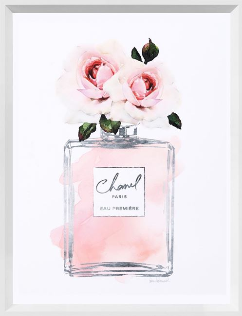 Picture of Silver Perfume and Flowers I