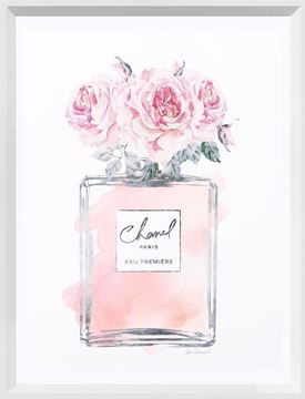 Picture of Silver Perfume and Flowers IV