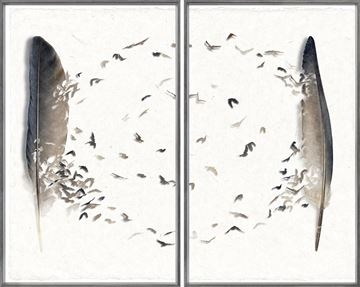 Picture of Aerial Circuit Diptych