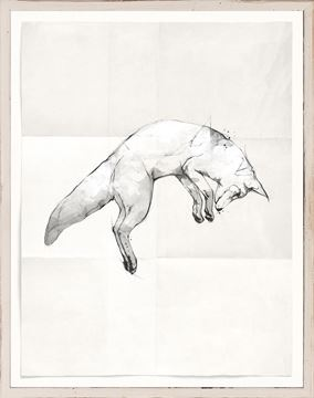 Picture of Sketch - Pouncing Fox