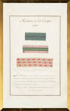 Picture of French Fabric Samplers II, 1735