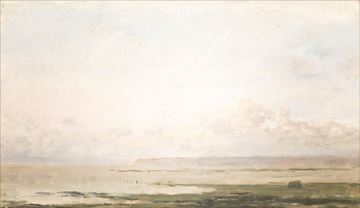 Picture of Beach at Ebb Tide C. 1850