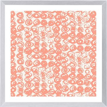 Picture of Motif In Coral VII