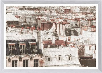 Picture of Terra Cotta Rooftops - Paris I