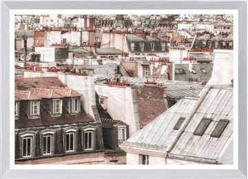 Picture of Terra Cotta Rooftops - Paris II - Large