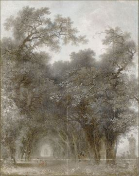 Picture of Fragonard - A Shaded Avenue - Gallery Wrap Canvas