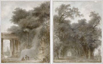 Picture of Fragonard - Diptych