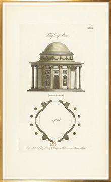Picture of Engraving - Temple Of Peace, 1778 - Large