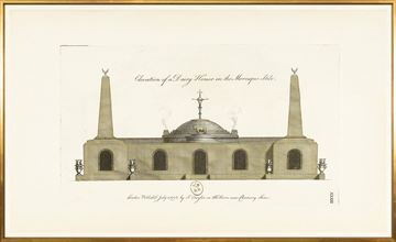 Picture of Engraving - Dairy House, 1778 - Large