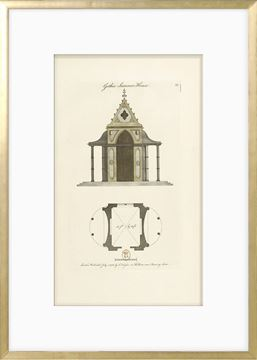 Picture of Engraving - Gothic Summer House, 1778