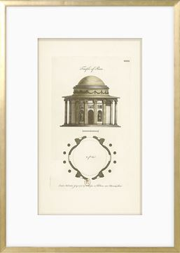 Picture of Engraving - Temple Of Peace, 1778