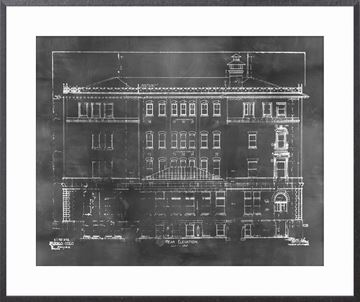 Picture of Blueprint - Rear Elevation